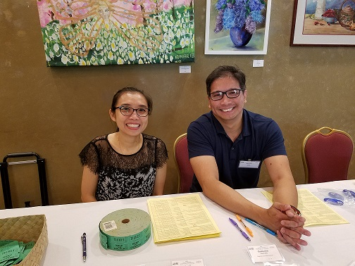 2018 HCLC Que Tram Lam and Mike Isidro