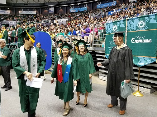 Commencement 2018-Dick offers congrats