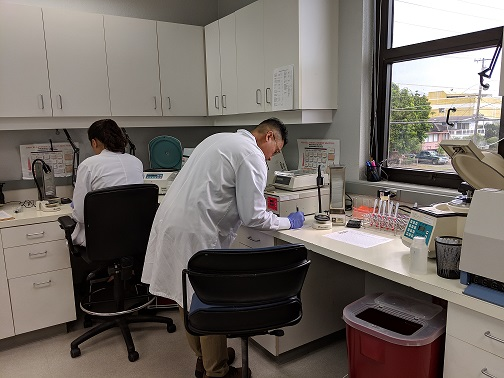 BBH-Visit-Class of 2019-3-Ref Lab MLS at work