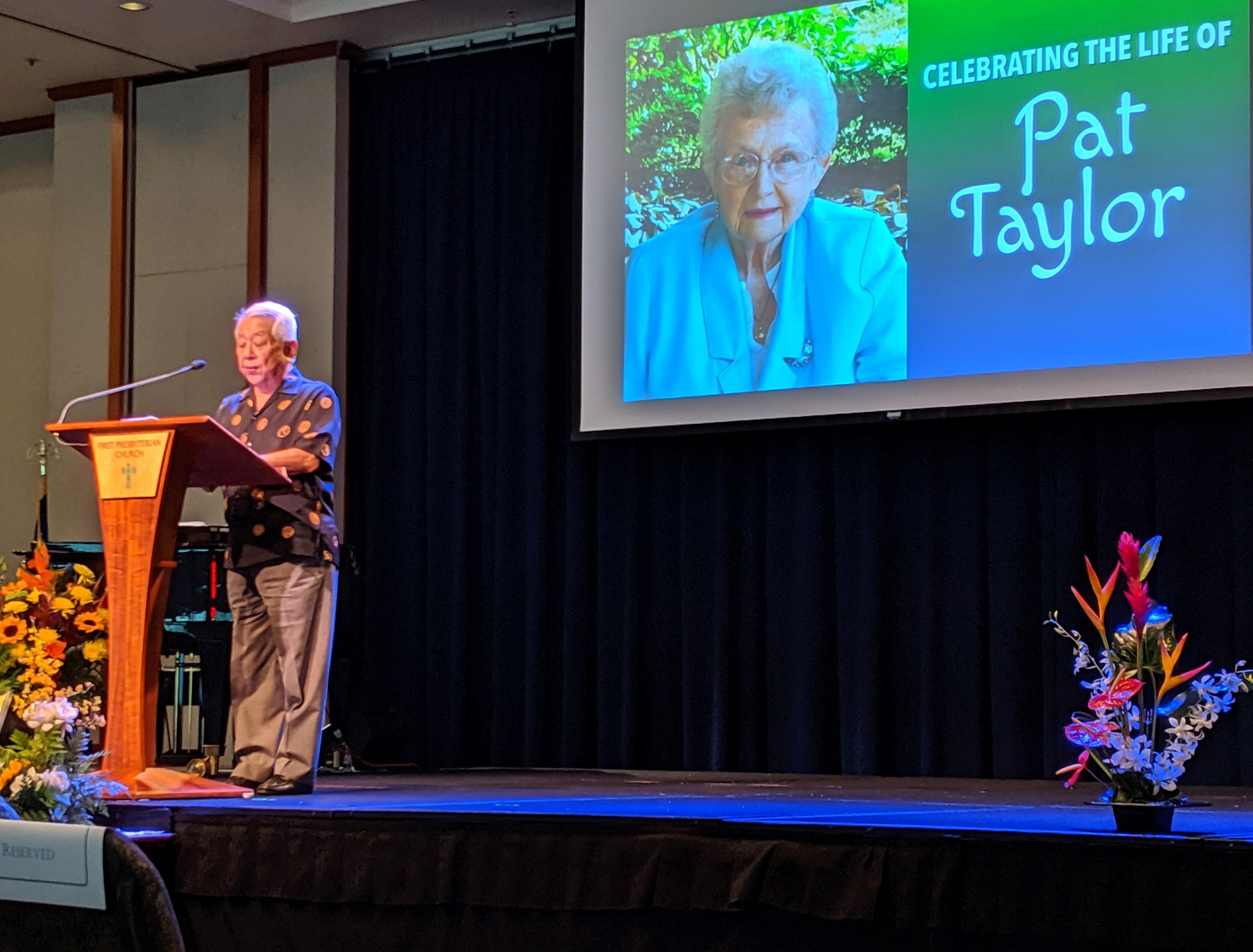Pat Taylor-Dr.Izutsu