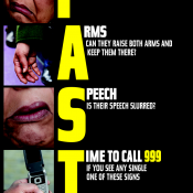 Act Fast - Warning Signs of a Stroke